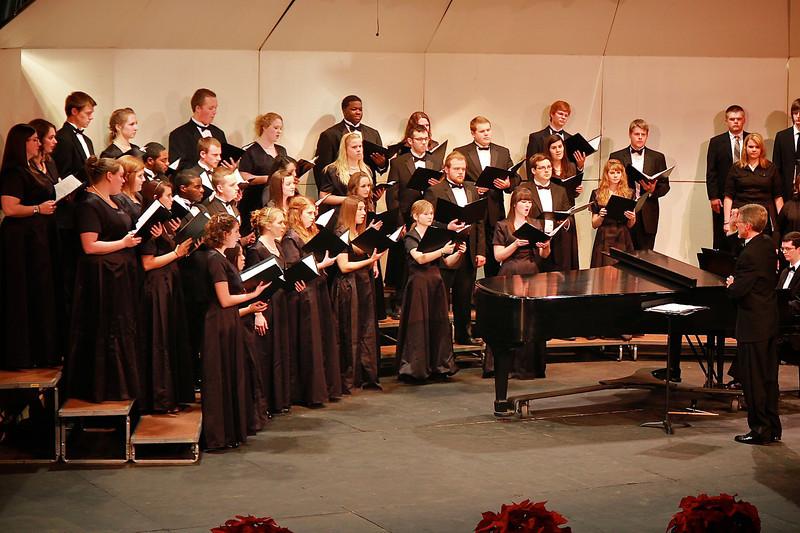 GWU celebrates the annual Festival of Lights; Decemeber 1, 2011.