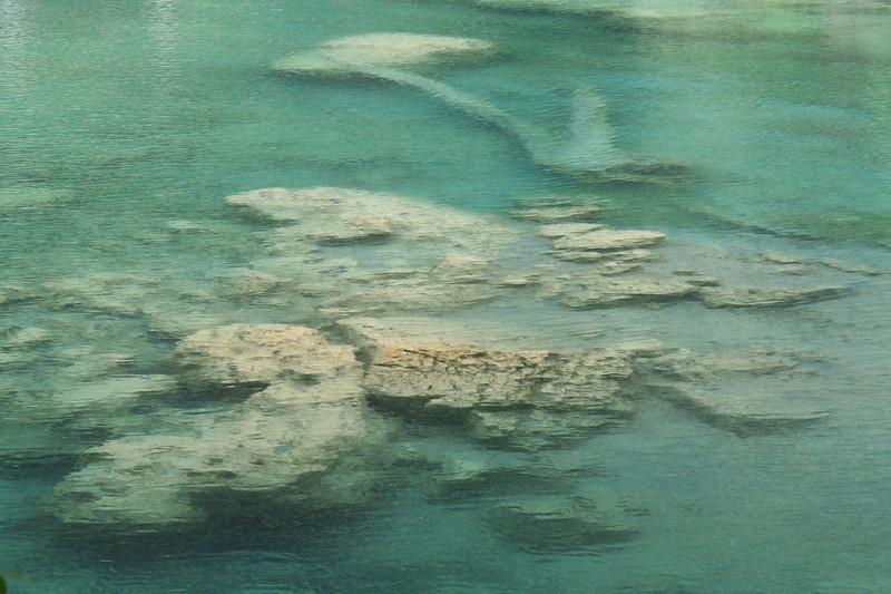 Emerald limestone water at Semuc Champey