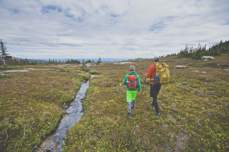 Illal Meadows with Aaron and Kevin - © Christopher Kimmel - No Use Without Permission