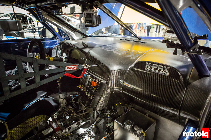 Nerd's Eye View: K-PAX Racing Volvo S60 interior roll cage sequential transaxle