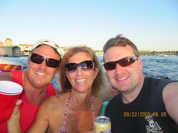 Lake Washington with Joe & Diane on the Nordic