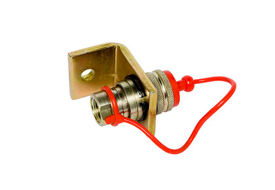 GENERAL PURPOSE QUICK RELEASE SINGLE COUPLING WITH BOLT ON BRACKET