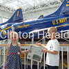 Ethan and Allison Kessler at the National Naval Aviation Museum Home of the Blue Angels in Pensacola,  Florida<br /> <br /> Photographer's Name: Ryan Kessler<br /> Photographer's City and State: Mt. Carroll, IL
