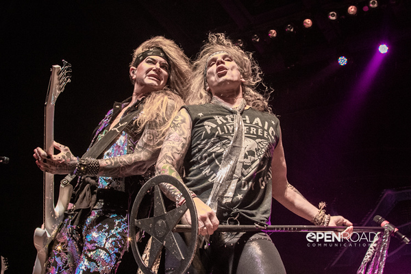 Steel Panther with Stitched Up Heart