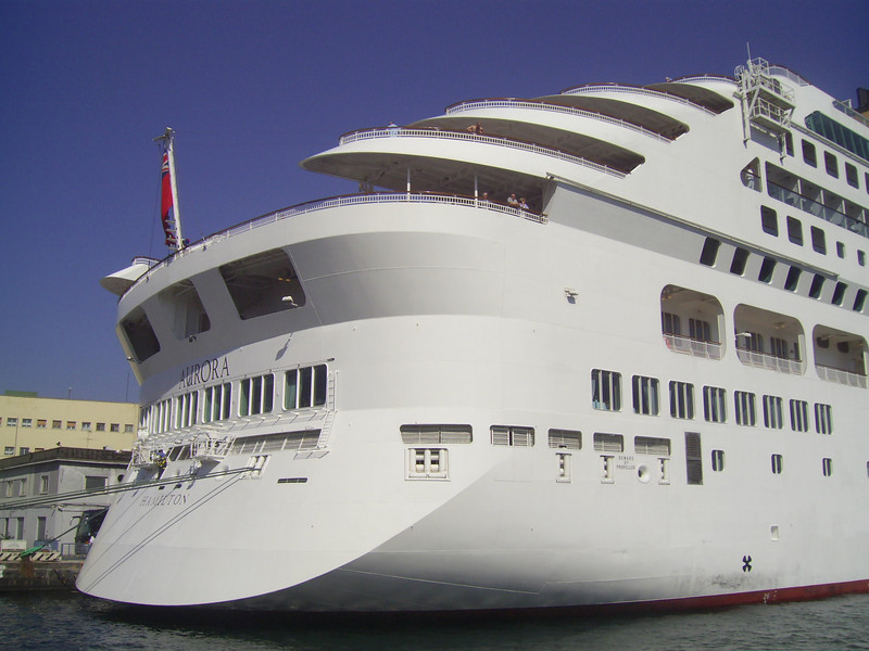 M/S AURORA in Napoli.