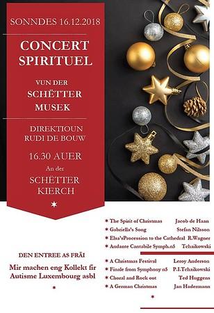 Concert Spirituel Harmonie Schuttrange