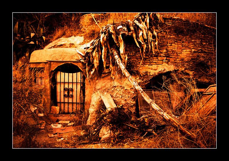 The caves of Sacromonte, Granada