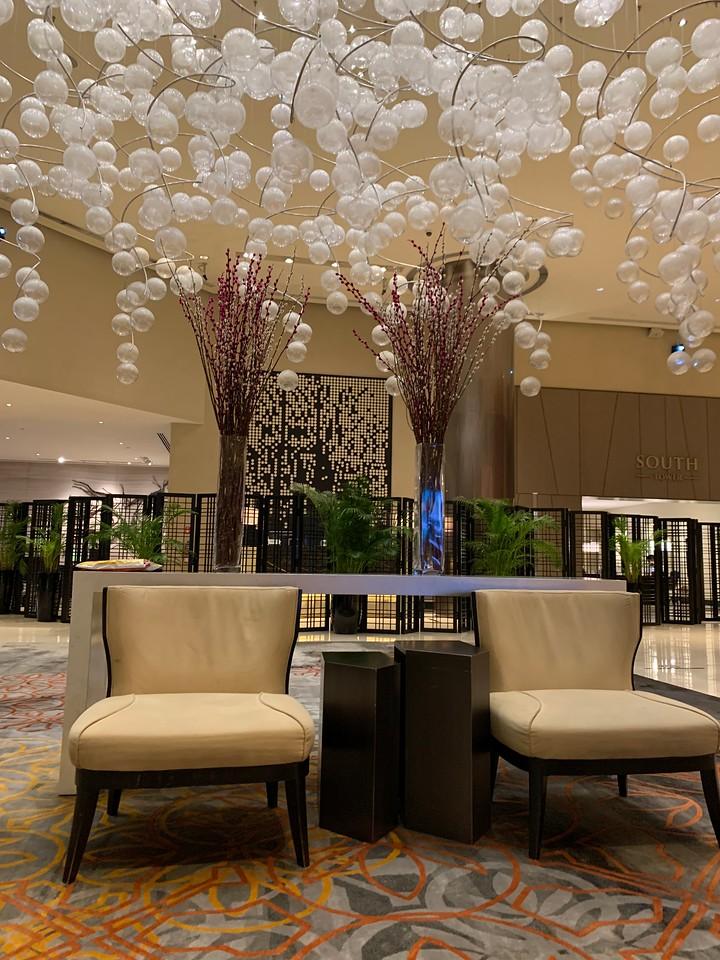Fairmount Hotel Lobby