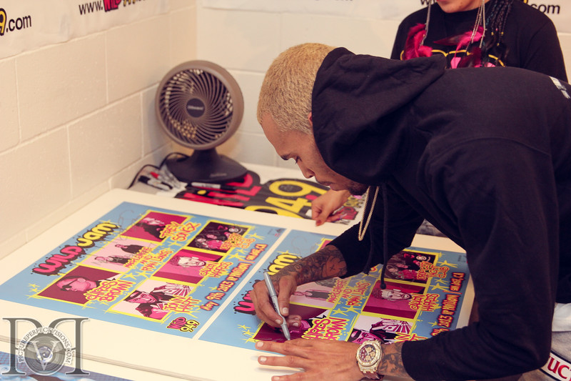 Wild Jam 2013 Nessa, Chris Brown, John Hart, Trey Songs Wild 949 471.jpg