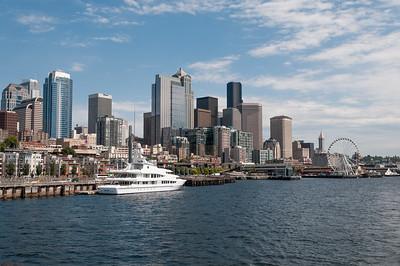 Glacier Park - Seattle, Seattle: Hafenrundfahrt