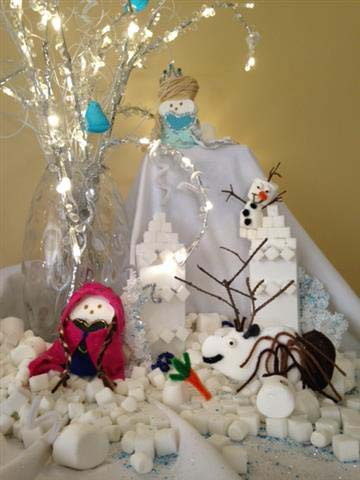 ". ""Frozen Peeps!\"" by Amy Gutzmann and Jenna Mascaro"
