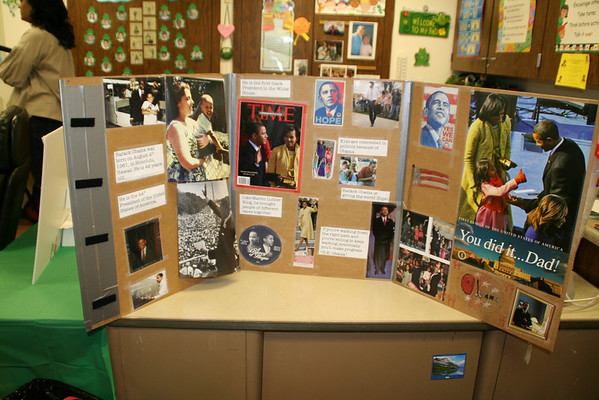 First Grade African American History Presentations