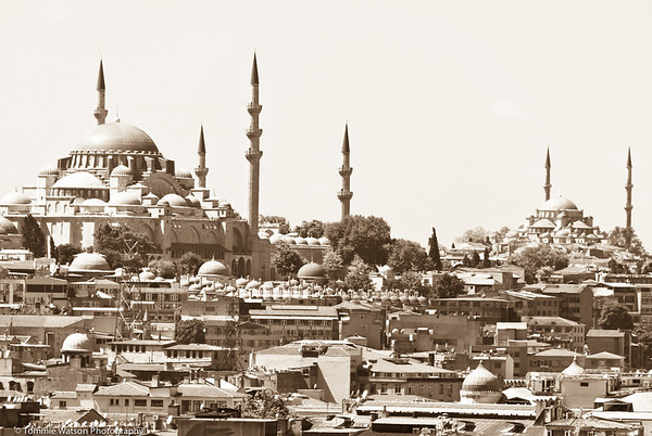 Vintage Mosque  |  2011  Sultan Ahmed Mosque  |  Istanbul, Turkey