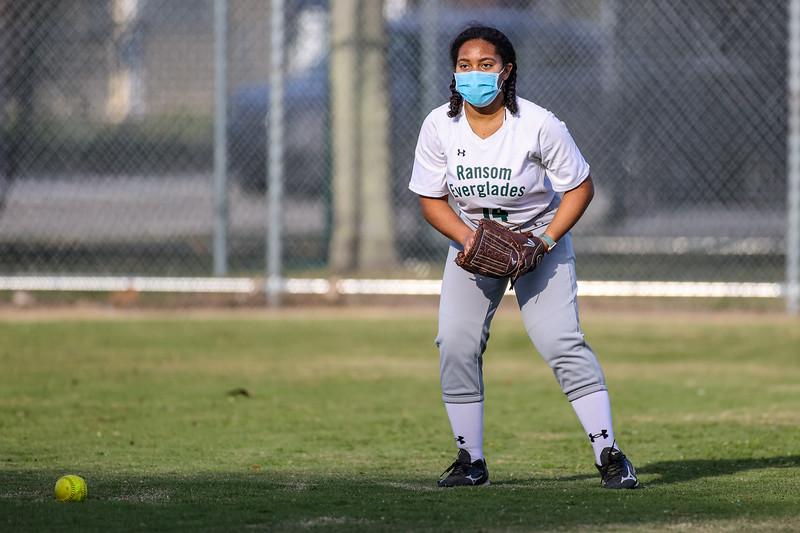 Ransom Everglades Softball, 2021