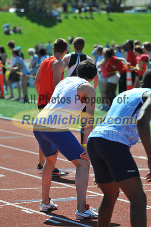 Men's 4x400 Relay Final - 2013 GLIAC Outdoor Track and Field Championships