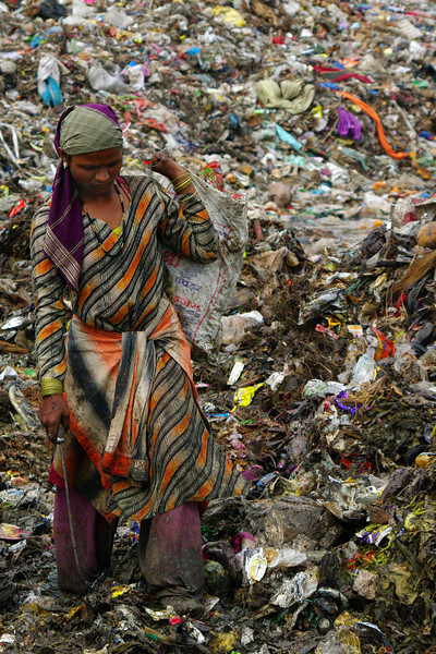 A Day with KKPKP - Wastepickers of Pune India