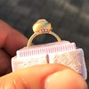 2.05ct Antique Cushion Cut Diamond Chunky Bezel with pave setting GIA J SI2 7