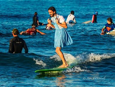 Blackie's Costume Surf Contest 2015