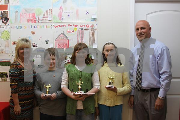 Farm Bureau Poster Contest Winners - March 2014