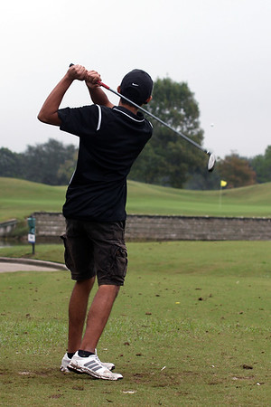 2018 Boys Golf at Battleground CC, Deer Park, November 8