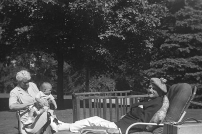 Goodenough Family Photos - Pre WWII - Large Format Negatives