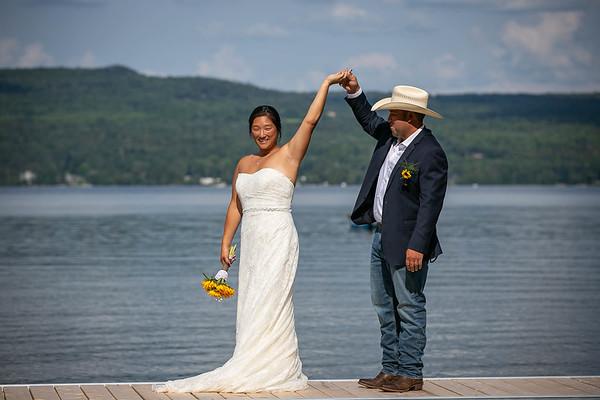 Laflin Wedding