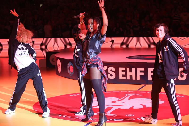 Nabiha, at EHF EURO 2014, Århus, Denmark