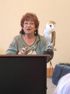 2018 09 Rancho Guajome;Botanical Wonders;Raptors