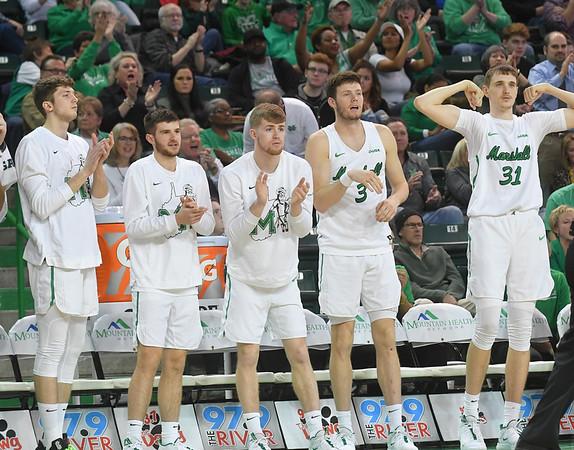 01.04.20 Marshall Basketball vs. NTSU