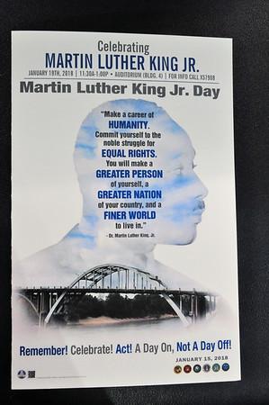 MLK Day At VA  Jan 20,  2018