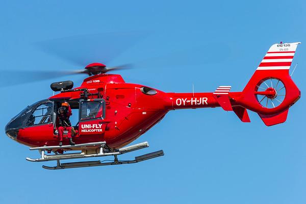 OY-HJR - Eurocopter EC135 T2+