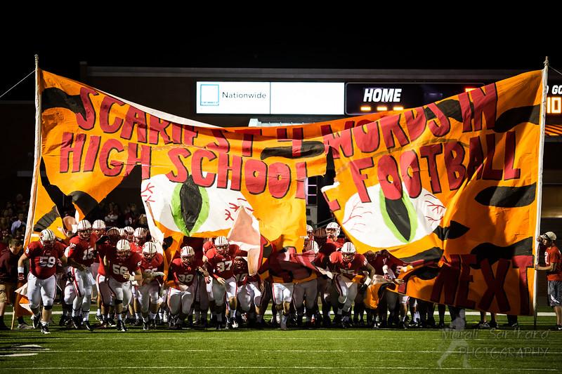 11-08-2013 - Katy High School - Football (M) - Varsity - Katy Tigers Team VS Memorial High School
