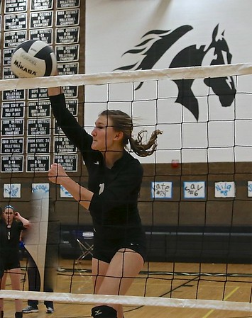 Outlaw Volleyball Senior Night vs LaPine 10-19-13