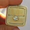 1.07ct Old European Cut Diamond AGS I SI1 Yellow Gold Bezel 8