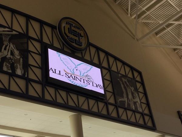 All Saints Day Mass 11-1-16