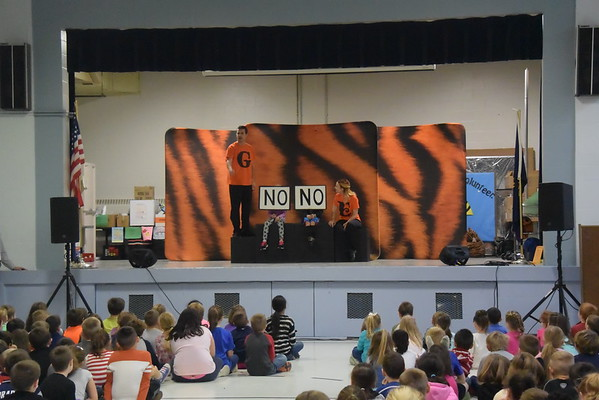 20161116  PSU TIGER Anti-Bullying Assembly at Pollard