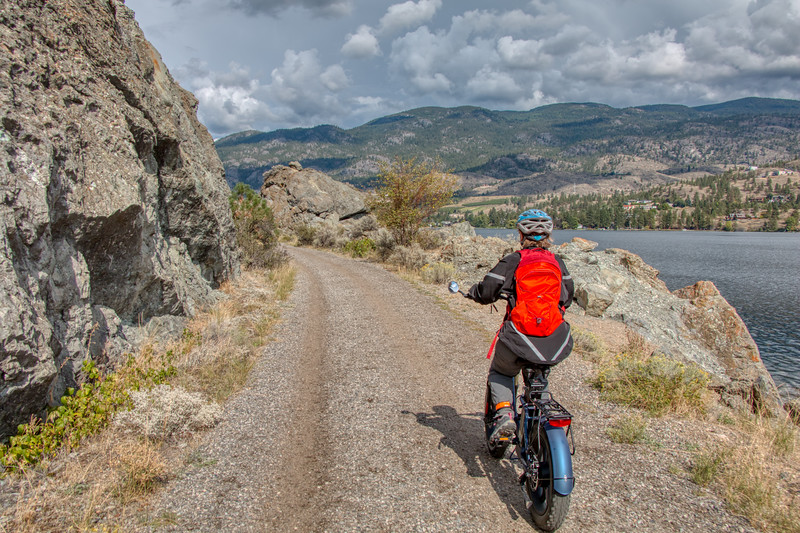Biking the Kettle Valley Rail Trail