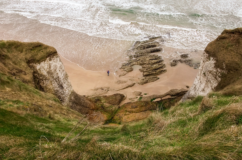 Whiterocks beach, east of Portrush
