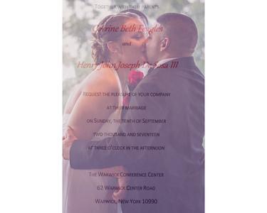 Corrine & Henry Wedding