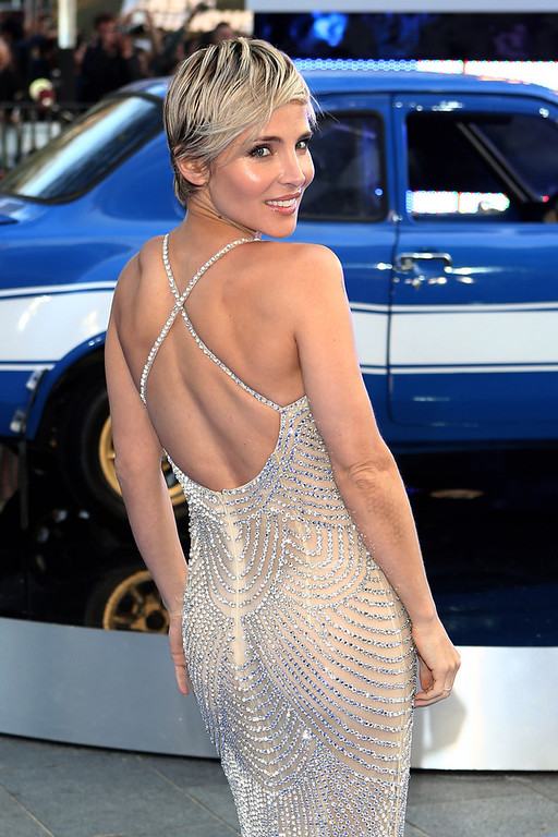 . Actress Elsa Pataky attends the World Premiere of \'Fast & Furious 6\' at Empire Leicester Square on May 7, 2013 in London, England.  (Photo by Tim P. Whitby/Getty Images)