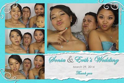 Sonia & Erik's Wedding (Luxury Photo Booth)
