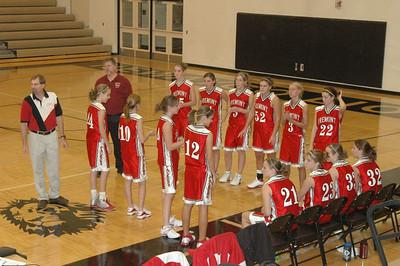 Girls Varsity Basketball  - 2005-2006 - 11/14/2005 Districts vs. Newaygo JG