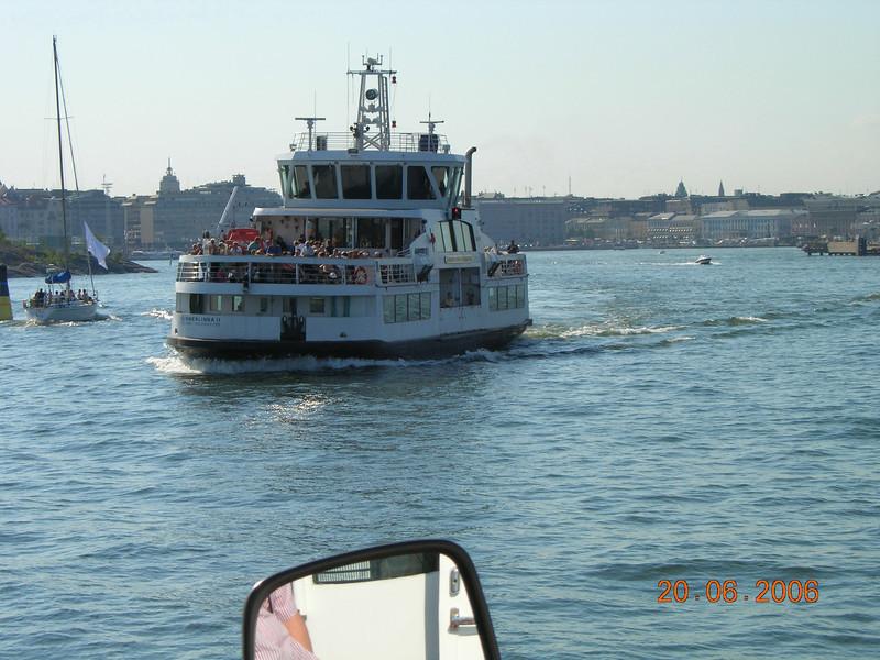 2006 - M/S SUOMENLINNA II (IMO 9315408) in Helsinki: service to Suomenlinna Museum Island.