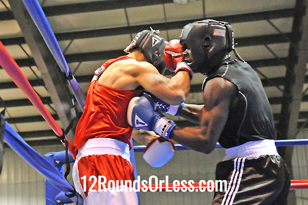 Bout #5 Scott Russell, Cory BC -vs- Jose Rodriguez, Rodriguez BC 165 lbs Open