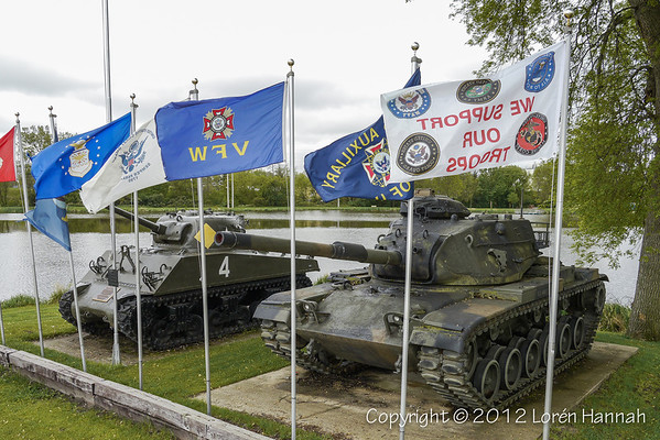 VFW Post 2112 - Sparta, WI - M4A3(75) & M60A3