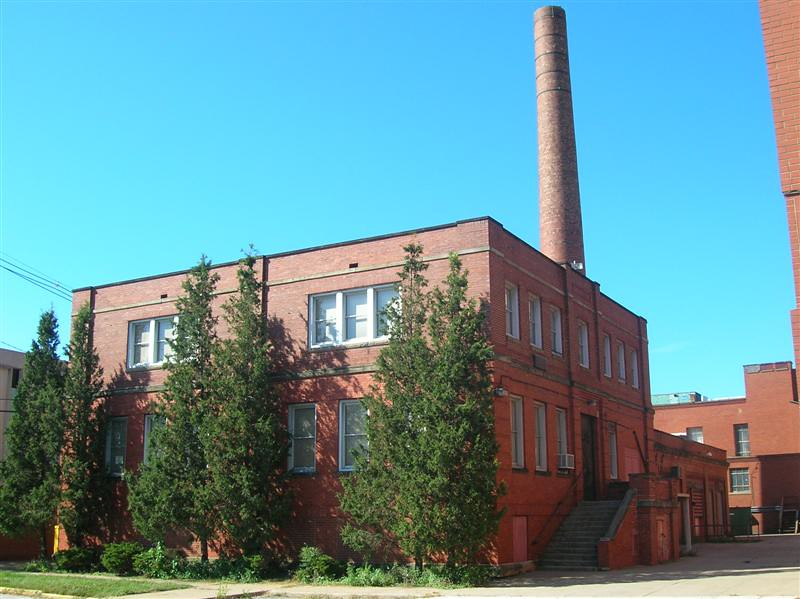. Historic photo provided by Jim Smith <br> An Industrial Arts Building on Lorain High School closed in 2005 and was demolished in 2009.