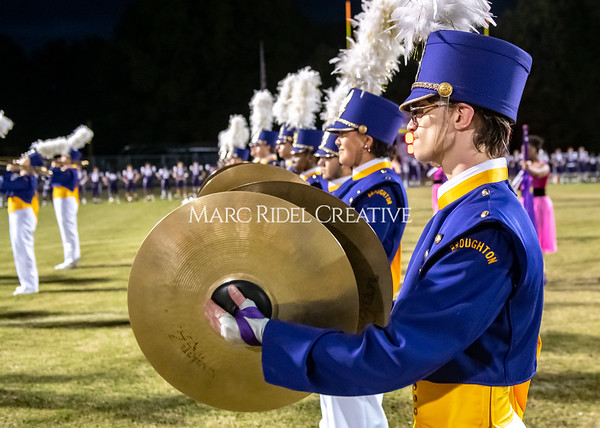 Broughton varsity football vs Cardinal Gibbons. Band and Dance Team Senior Night. October 25, 2019. MRC_3679