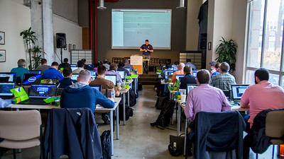 Intel Training at the Cabana