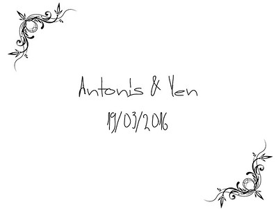 Antonis & Yen 19/03/2017