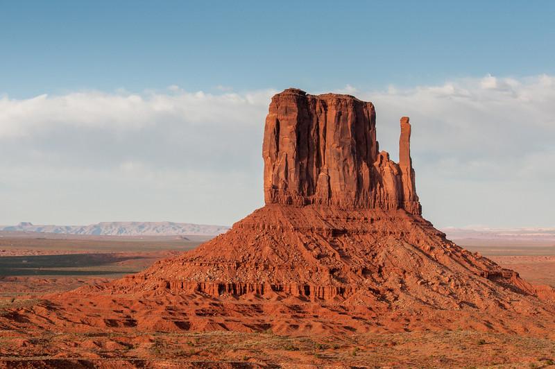 Merrick Butte in Monument Valley, Utah